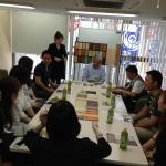 東京の会場を借りてもらい、自然塗料の勉強会。