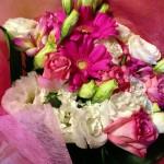 旦那様&愛息子から 私の好きなピンクの花束