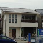 屋根いっぱいに乗せた太陽光発電