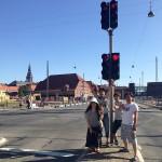 デンマークでの早朝散歩で...
