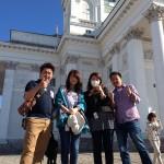 タイセイホームの4人で参加した北欧ツアー