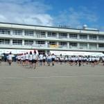 これで全校生徒!! 6年生が1番多くて29名!!
