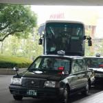 高知からバスで会場の ホテルリーガロイヤル新居浜に 到着(^v^)