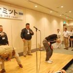 番外編3 懇親会でのウィンウィンホーム絆会VSタイセイホーム共創会によるゲーム大会。