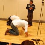 番外編4 泣きの土下座。 私と西井さんで「もうひと勝負だけお願いします・・・」っていう。