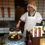 宮島で美味しかったもの。 「揚げもみじまんじゅう」これはメッチャ美味かった。