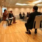 最初の講師は松本社長と私から。