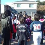 ゼッケン10が娘 真ん中はクラスメート 左端は5年生の女の子