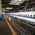 今回は広島まで車で行って福岡までは久しぶりの新幹線で。