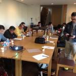 工務店のためのオシャレ塾に出席しました。これは東京にて。