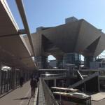茨城を出た後、東京のビッグサイトへ。建築建材展に行ってきました。