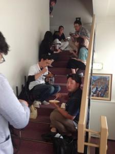 県外の会社(熊木住建さんと他7社さん)も共創会を見学に来ました
