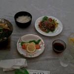 豪華な夕食♪