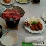 またまた豪華な夕食☆