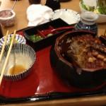 名古屋で有名な『蓬莱軒』のひつまぶし。やはり美味い!(^^)!