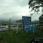 富士スピードウェイも通るが見えず・・・