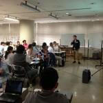 今回は建築家の松岡さんに講義をお願いしました。素晴らしいセミナーでした。ありがとうございました。