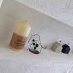 真っ白な漆喰の塗り壁