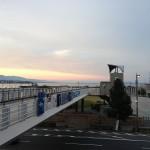 清水建設さんは滋賀県の琵琶湖の近く。