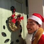 みなさん、玄関やお家をクリスマス仕様にかわいくされていましたよ♪