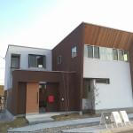 来年くらいには展示場でこんなお家も建てたいなと思っています。「中庭のあるお家」です。