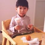 お菓子やアイスばかり食べる長女。