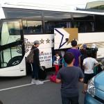 バスが到着☆
