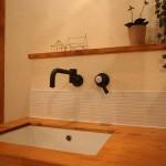 2階の手洗いは、たくさん悩んで考えた場所のひとつです。