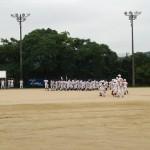 久礼大会 開会式 去年の優勝旗を返還☆