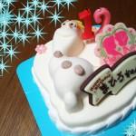 念願のアイスケーキ☆