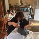 話とは関係ないですが、いつもお世話になっている美容室「Minisco*」で美容院デビューした娘たち。野田さん、ありがとう(^o^)