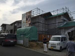 坂井さんとこの現場。ウチよりキレイでした(^_^;)
