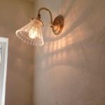漆喰の壁に陰影がついて、とってもいい雰囲気でしたよ!(^^)!