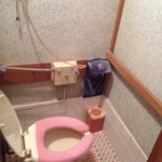 リフォーム前。1階トイレ。