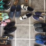 玄関も靴でいっぱいに!!