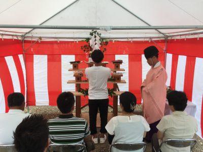 地鎮祭、タイセイホーム、新築、高知