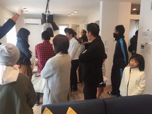 南国市大埇にてタイセイホームの規格住宅の見学会開催。デザイン×西欧×自然素材の家は大好評でした!