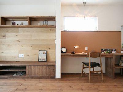 自然素材とオーダーメイドでつくった大人カッコいい家。