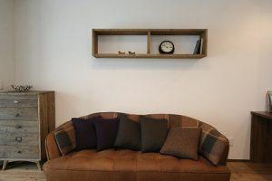 ナチュラルだけどちょっとカッコいい、オシャレなオーダーメイドハウス。自然素材を使用することで快適かつ健康に生活することができます。