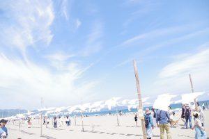 高知県の大方で開催された、Tシャツアート展へ行ってきました。
